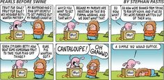 Pearls Before Swine ....this is one of my favorites :)