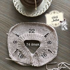 Creative Contents about DIY & Crafts, Knitting, Hairstyles, Beauty and more - Diy Crafts Best 12 Undertale Crochet Como Hacer G 769411917572736808 Pi. Baby Knitting Patterns, Baby Sweater Knitting Pattern, Knitted Baby Cardigan, Knitted Baby Clothes, Knitting Charts, Knitting Designs, Free Knitting, Diy Crafts Knitting, Diy Crafts Crochet