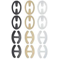 Closecret Women's Bra Non-slip Straps and Clips(Style 3) ...