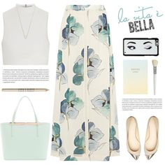 La vida es bella. by yexyka on Polyvore featuring Elizabeth and James, Tory Burch, Ted Baker, Monique Péan, Kate Spade, Cath Kidston, Lord & Berry and Oris