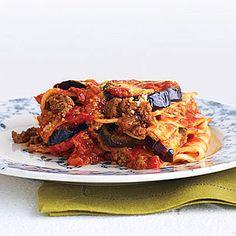 Light Beef and Eggplant Lasagna Recipe - Delish.com