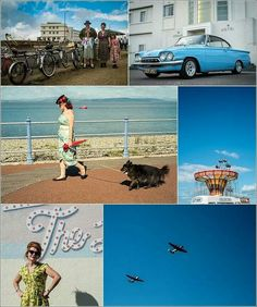 Vintage By The Sea Montage. Photos by www.beanphoto.co.uk