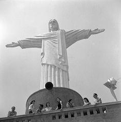 Cristo Redentor, Rio Jean Manzon, circa 1940
