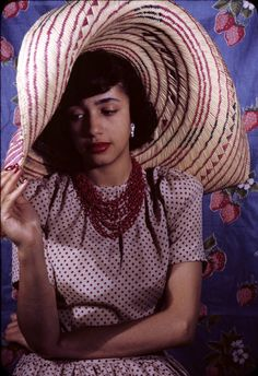 "Actress Jane White in a 1941 photograph by Carl Van Vechten. A 1944 graduate of Smith College, White was the daughter of Civil Rights icon Walter White. Ms. White began her career on Broadway in 1945 when Paul Robeson helped her get her first role as the lead in Lillian Smith's ""Strange Fruit,"" a story about a doomed interracial love affair. First Lady Eleanor Roosevelt praised Ms. White's work for its ""restraint and beauty."" In 1959, Ms. White originated the role of Queen Aggravain (to a yo..."
