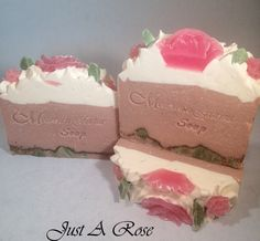 Just A Rose   Mountain Farms Soap