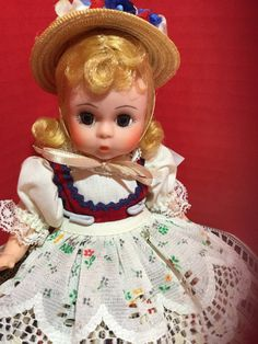 Madame Alexander Germany 8 inch International doll by HelloDollySanJose on Etsy