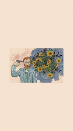 Van Gogh Wallpaper, Painting Wallpaper, Iphone Wallpaper, Painting Art, Wallpaper Backgrounds, Van Gogh Art, Art Van, Vincent Van Gogh Ear, Van Gogh Tattoo