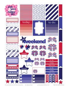 FREE PBTT: Free Independence Day Sticker Sheet