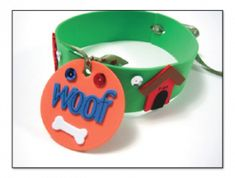 It's funny that I found this today.We were trying to think of a way to make Roo a collar.