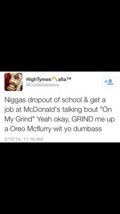 Lmfao right. Go ahead and get that minimum wage you got it!  @GolddennGoddess♛