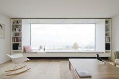 37 New Ideas Apartment Architecture Design Big Windows Window Benches, Window Seats, Room Window, Window Ledge, Interior Architecture, Interior Design, Modern Interior, Minimalist Architecture, Japanese Interior