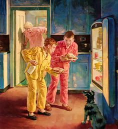 Anderson, Harold - [Caught by Grandma] Caught in the Night Raid (1950's)