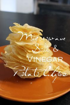 Small Fry & Co. : Microwave Salt and Vinegar Chips-Crispy, Crunchy and Zingy.