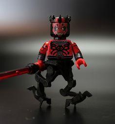 TCF Darth Maul by Xero_Fett | Custom LEGO Minifig by TheCloneFactory