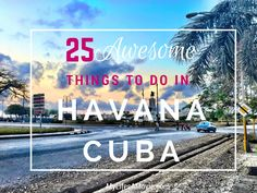 While spending two weeks in Havana, Cuba I meandered around solo and discovered tons of awesome things to do, see, and experience! Plus lots of rum!