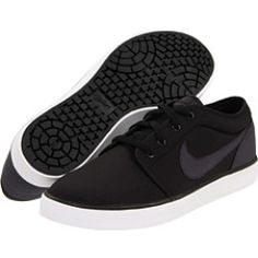Nike - Coast Classic Canvas (Black/White/Anthracite) - Footwear, $36.99   www.grabevery.com