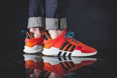 check out 991c3 27169 adidas EQT Support ADV  Summer Trace OrangeWhiteGu  Mens