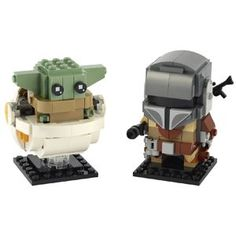 LEGO BrickHeadz The Mandalorian & The Child 75317 Shop Lego, Lego Store, Buy Lego, Lego Sets, Lego Star Wars, Modele Lego, Figurine Lego, Lego Baby, Construction Lego