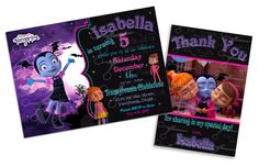 """Birthday Invitation printable card is perfect for your childs birthday party! This listing is for one digital file of invitation card that measures either 4""""x6"""" or 5x7 . THIS IS A DIGITAL PRODUCT! NO PHYSICAL item will be shipped to you. Your finished invitation will be custom"""