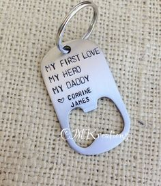 Daddy gift  Dad gift personalized   bottle opener by CMKreations, $17.00