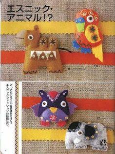 Mini Feltro Japonês - Isabel Perez Valiente - Picasa Albums Web