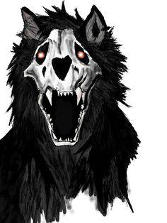 Pin by duncan daniel nardo on werewolves and monsters in 2019 criaturas de Dark Creatures, Fantasy Creatures, Mythical Creatures, Demon Dog, Saarloos, Shadow Wolf, Occult Art, Dark Tattoo, Creepy Art