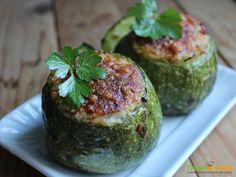 Zucchine ripiene di tonno e riso #ricette #food #recipes