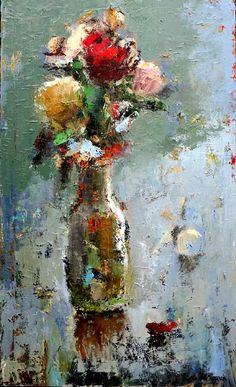 Sweet Melancholy - painting by Julia Klimova at Crescent Hill Gallery