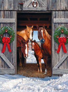 27 Beautiful And Creative Christmas Horseshoe Ornaments