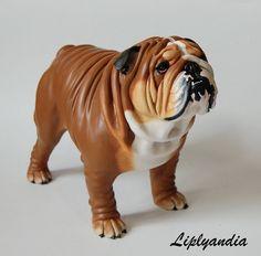 English Bulldog Sculpture by Kesa-Godzen on DeviantArt Dog Sculpture, Animal Sculptures, Dog Lover Gifts, Dog Lovers, Dog Artwork, Dog Photos, Pet Portraits, Fur Babies, English