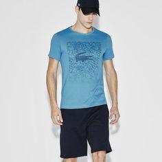 Men's SPORT Ultra Dry Jersey Crew Neck Tennis T-Shirt
