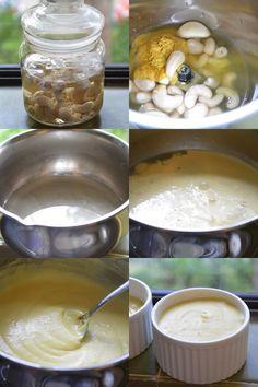 steps-Sliceable Vegan Cashew Cheese