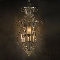 John-Richard AJC-8423 6 Light Avington Park Foyer Light, Bronze