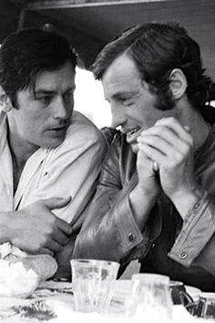 Alain and J. Paul Belmondo