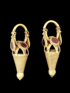 Ancient Jewels and Jewelry  Parthian earrings.
