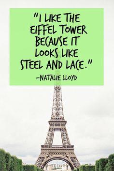 Paris quotes. #paris #parisquotes #travel #travelquotes #france #frenchquotes #wanterlust