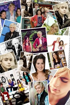 Ross lynch from Austin and Ally on Disney channel. He plays Austin. Also Laura Marano plays Ally.