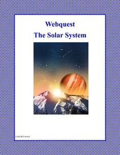 The center of the Solar System is the Sun. The Solar System is made up of the Sun and all the planets, asteroids, and other objects that orbit the Sun. This is a web search designed to give students an overview and factual information about the Solar System as they read for information using the internet. During the search they use a variety of strategies and skills that will build their strengths in reading. An answer key is included. $1.50