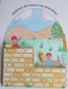 Herbouw de muren van Jeruzalem