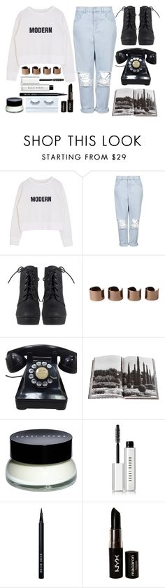 """""""~Worrying about my brother finding out~"""" by little-miss-rae-rae ❤ liked on Polyvore featuring Boutique, Maison Margiela, Assouline Publishing, Bobbi Brown Cosmetics, NYX, Gorgeous Cosmetics and vintage"""