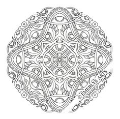 adult coloring pages intricate | Posted by Cynthia Emerlye at 7:00 AM No comments: