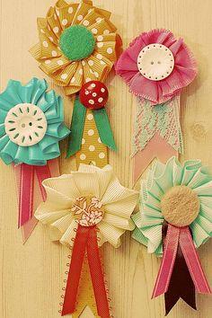 pretty ribbons.