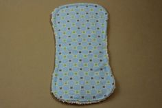 Baby Boy Flannel & Chenille Burp Cloth by JennyTheRidds on Etsy, $8.00