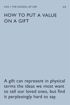COS   The Gift Edit