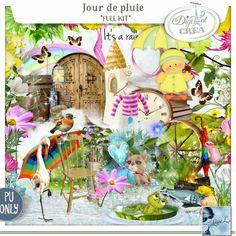 Jour de Pluie Kit (PU) by Louise L