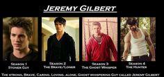 Jeremy Gilbert, Boy did he grow up nicely!!
