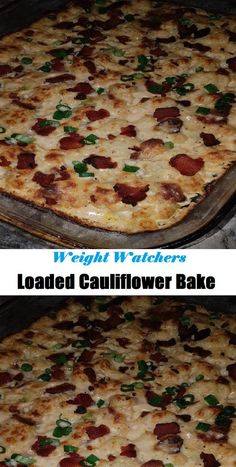 Loaded Cauliflower Bake --- #Loaded #lauliflower #Bake