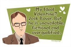 Dwight's secret love...