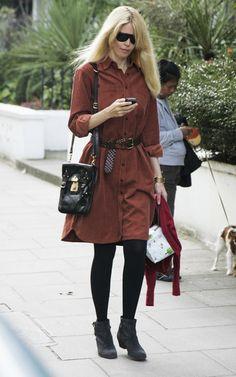Claudia Schiffer Photo - Claudia Schiffer in London