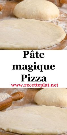 This quick pizza dough contains the same ingredients as a standard pizza dough. But, it is prepared in two phases with a rest time of 10 minutes between the two times, hence its name of magic paste. The result is stunning, a light and very good paste. Cooking Chef, Batch Cooking, Cooking Recipes, Healthy Breakfast Recipes, Easy Dinner Recipes, Dessert Recipes, Baguette, Quick Pizza, Ramadan Recipes